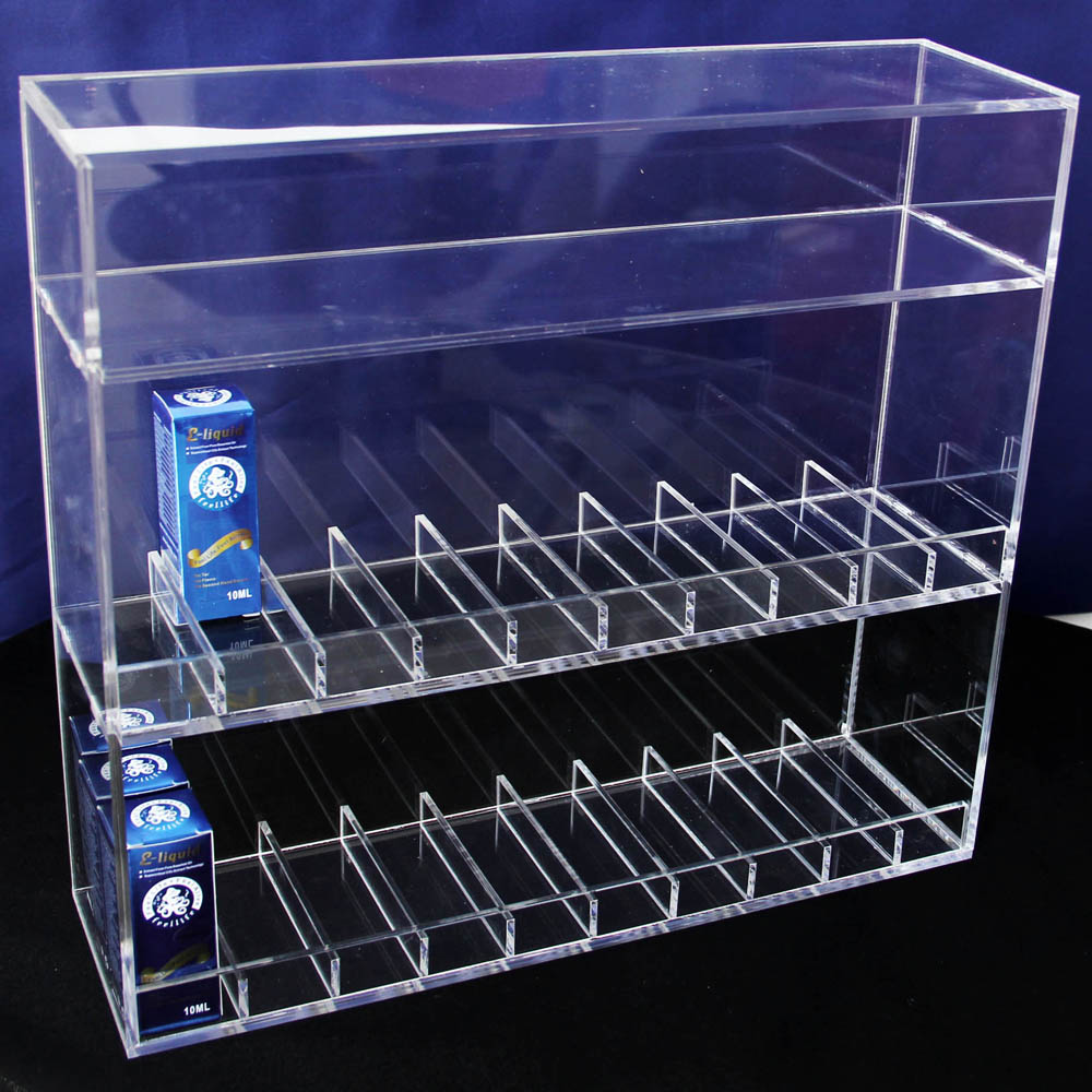 e cig juice holder wholesale acrylic stands