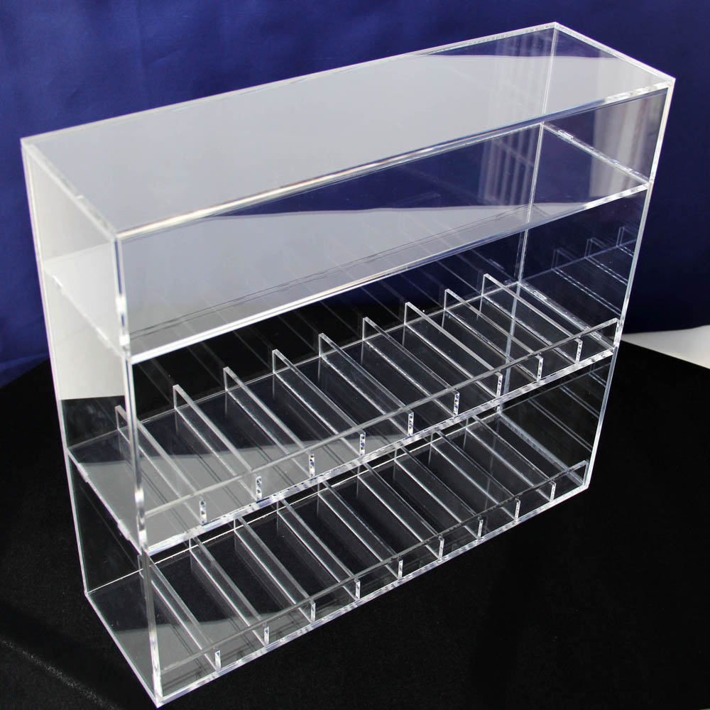 e cig juice holder display case stand