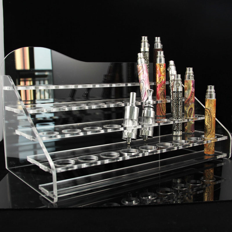 4 Tiered Acrylic Vapor Display ejuice holder