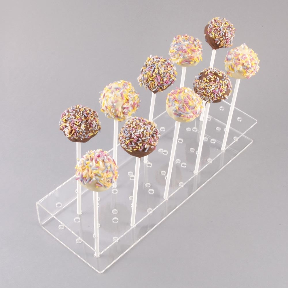 Portable Lolli Stick POP Display Tiered Holder