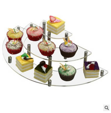 3 Tiered Wedding Cupcake Display