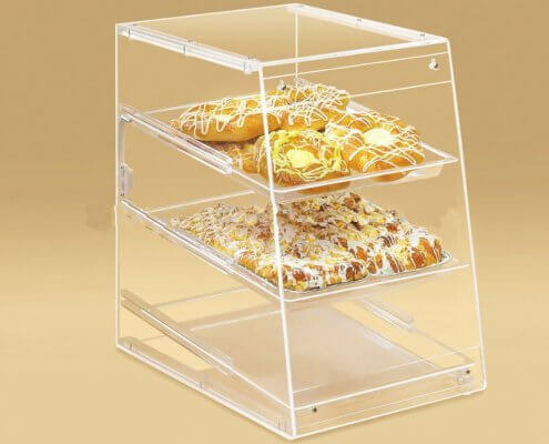 3 Trays Bakery Display Cases