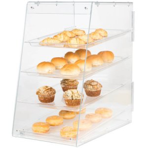 4 Trays Bakery Display Case