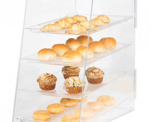 4 Trays Bakery Display Case