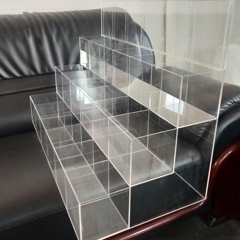 Acrylic funko pop display shelf
