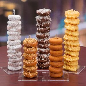 Acrylic Doughnut Stick Display Stand