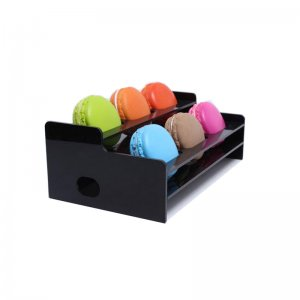 Black Countertop Bakery Display Tray