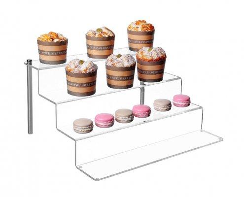 Countertop Assembled Cupcake Display Riser