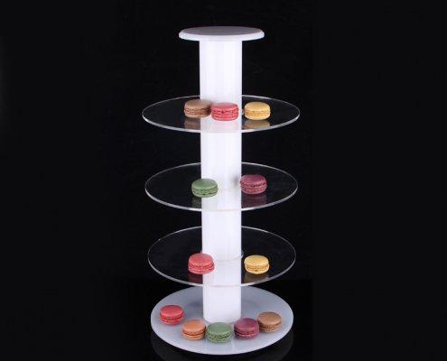 4 Levels Cupcake Display Tower