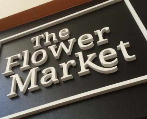 marketplace display signage 3d letter signs