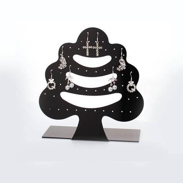 Black Tree Shape Jewelry Holder