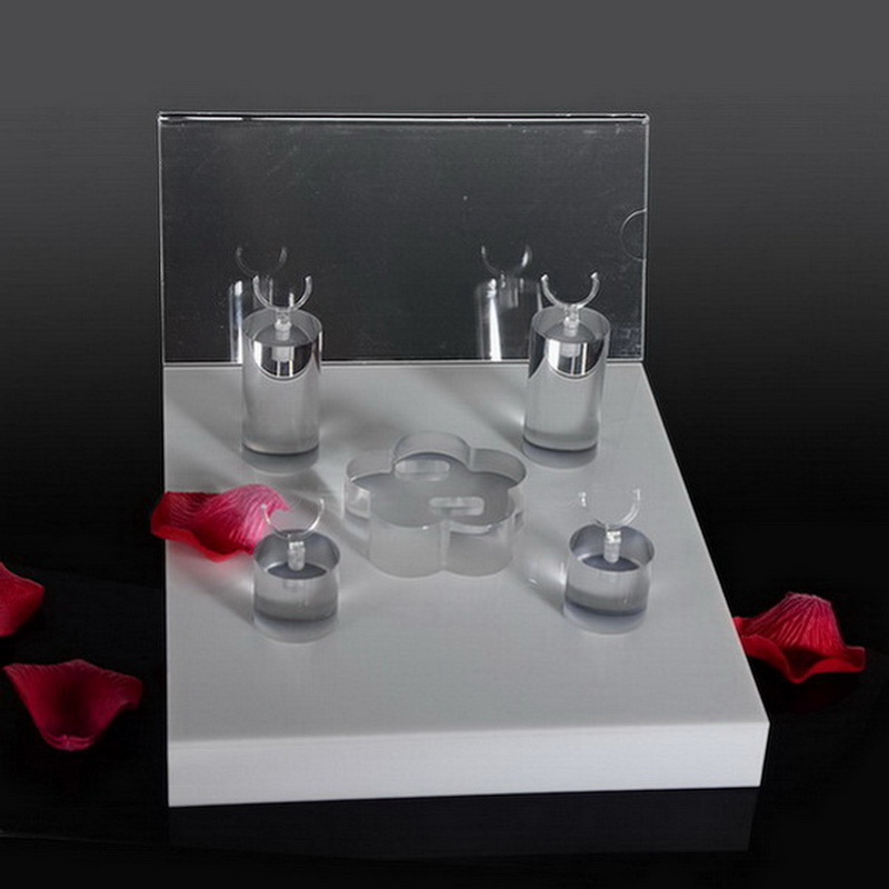 Custom Point of Purchase Acrylic Jewelry Display Kits lucite necklace holder