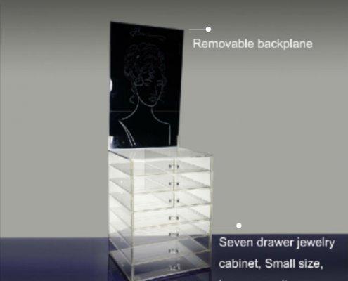 Acrylic Jewelry Storage Display