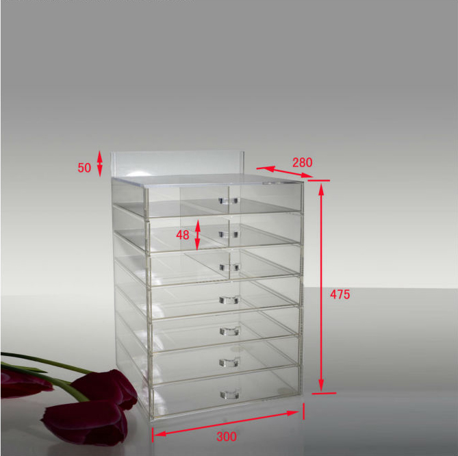 Acrylic jewelry storage display lucite jewelry displays