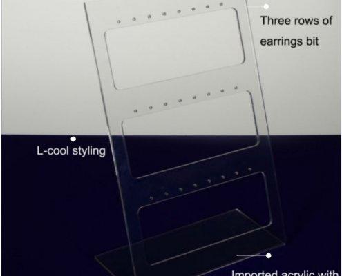 Acrylic Earring Organizer Frame