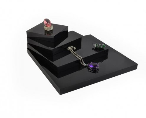Countertop Acrylic Jewelry Display Basement Kits