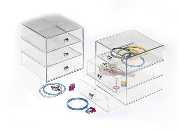 Customized Clear Acrylic Jewelry Box