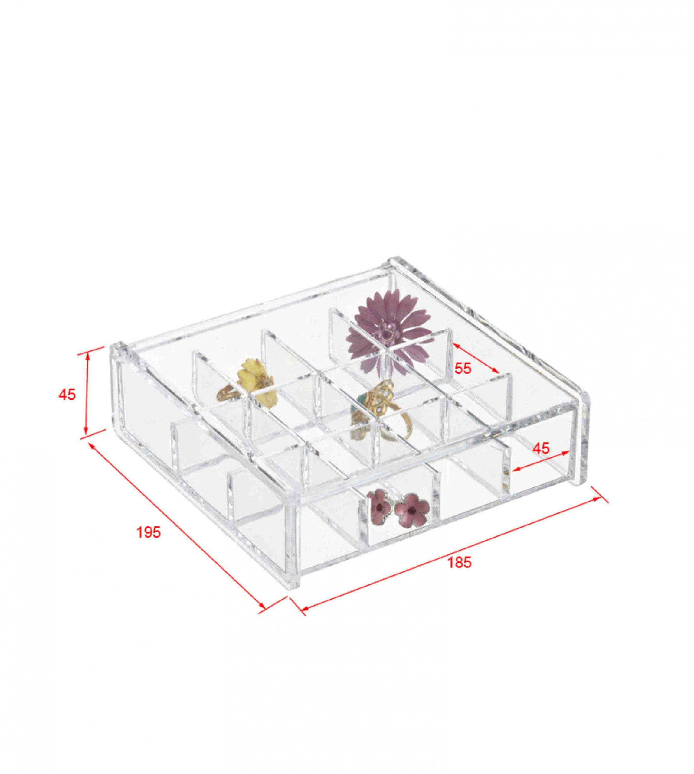 acrylic earring storage boxes handmade jewelry displays