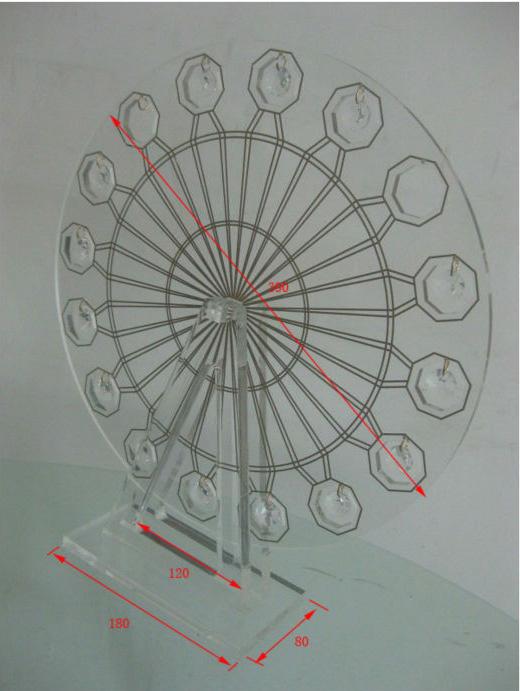 Acrylic Ferris Wheel Jewelry Display