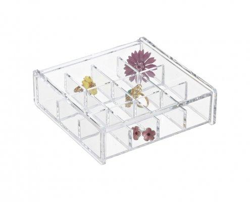 Acrylic Earring Storage Boxes