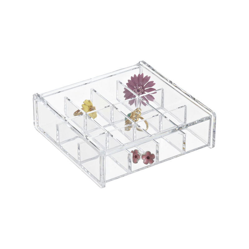 Acrylic Earring Storage Boxes