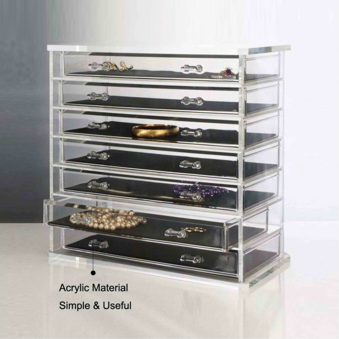 7 Layers Jewellery Showcase jewelry display cases wholesale