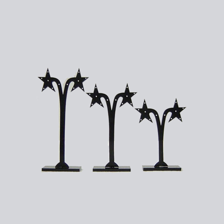 Star-tree-shaped Acrylic Earring Stand