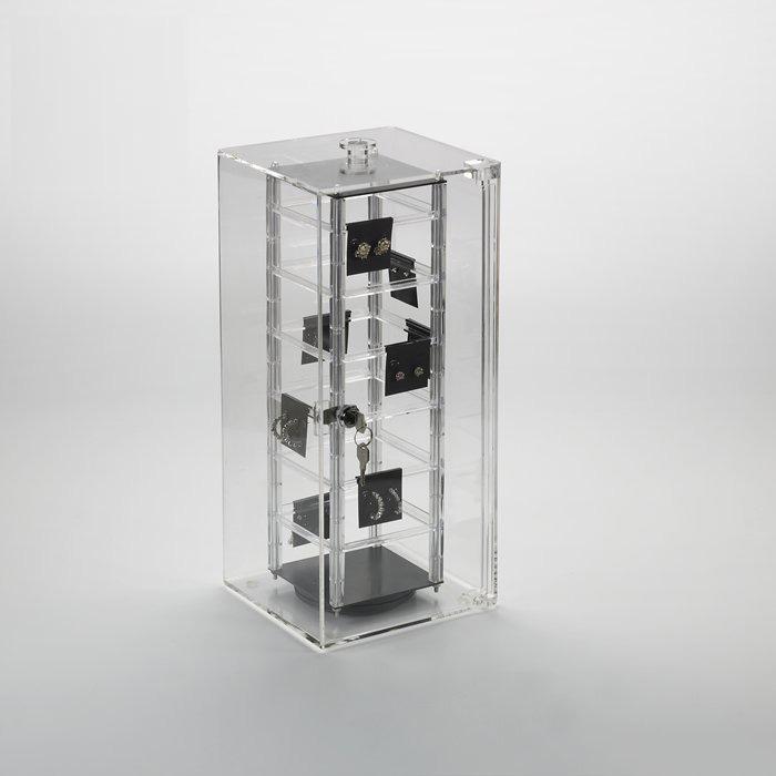 locking countertop jewelry display case