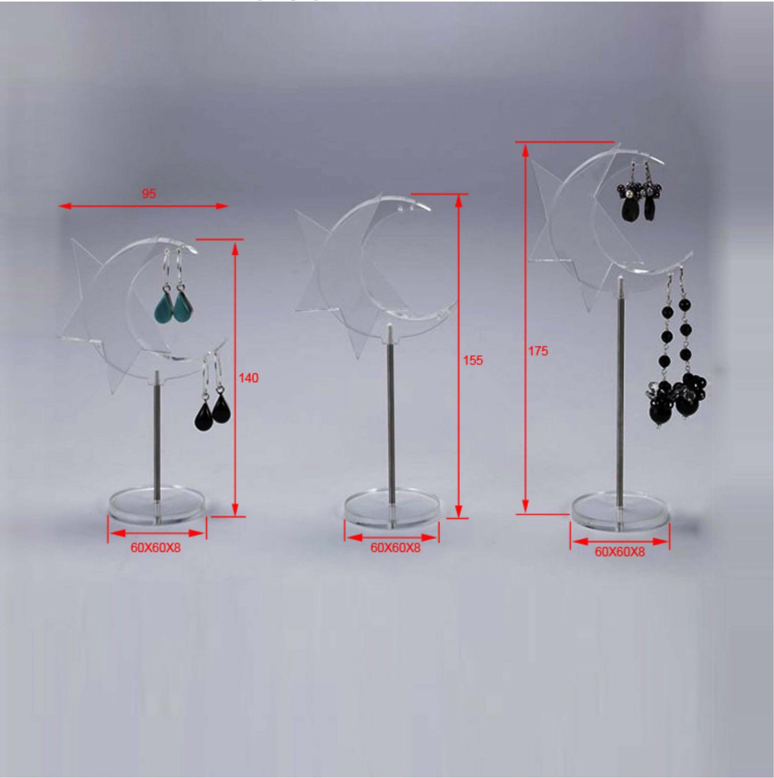 jewelry display holder retail earring display stands