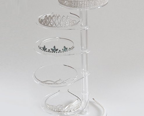 Revolving Acrylic Jewelry Display Table Kits