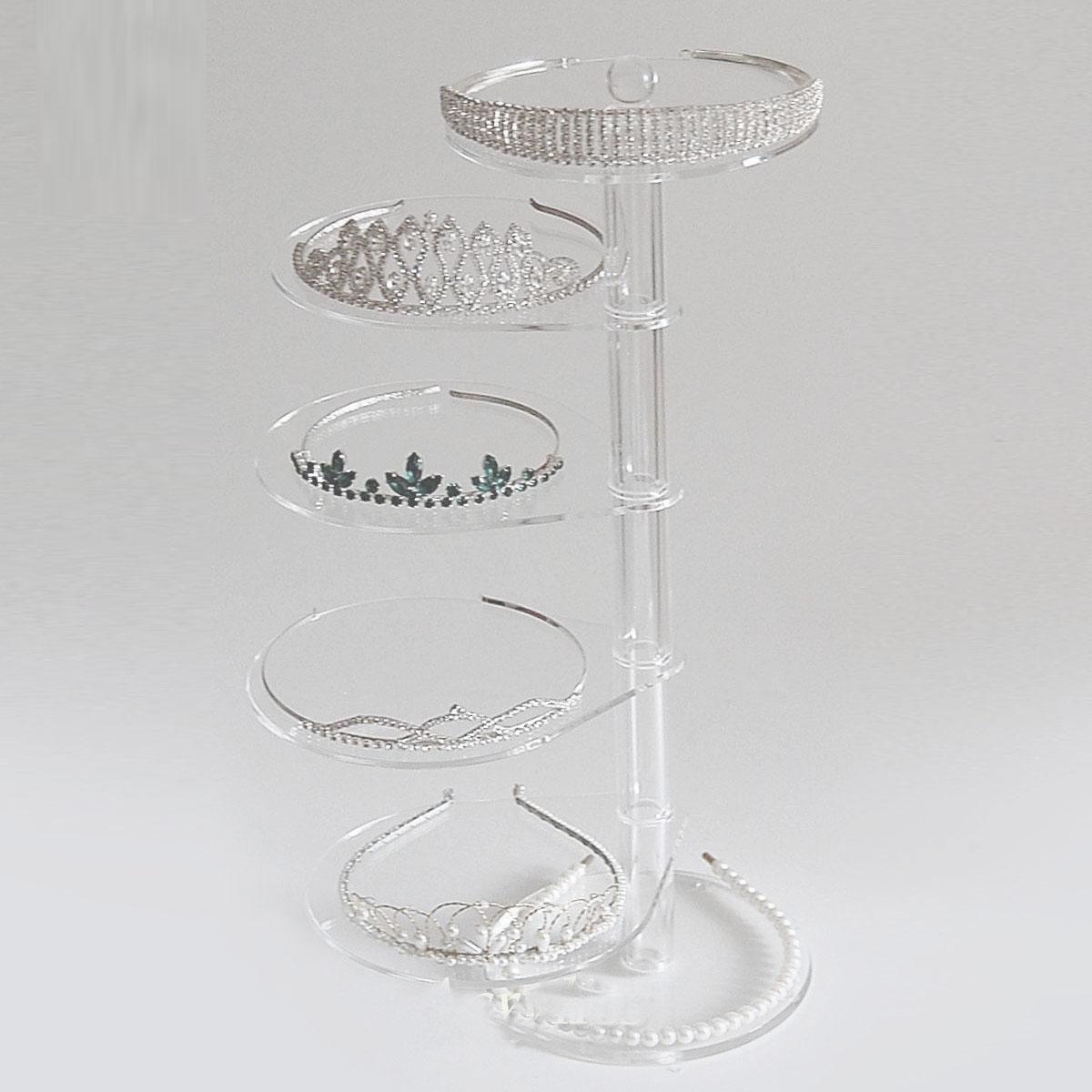Revolving Acrylic Jewelry Display Table Kits