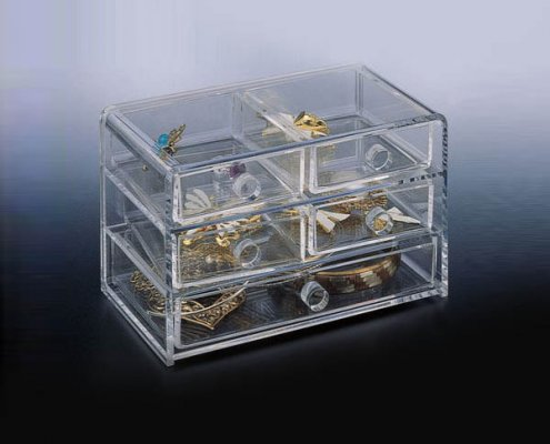 Clear Acrylic Jewelry Display Organizer