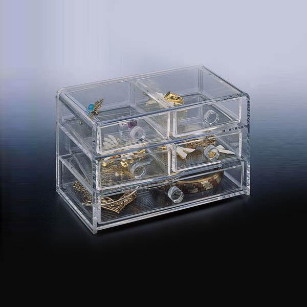 Clear Acrylic Jewelry Display Organizer