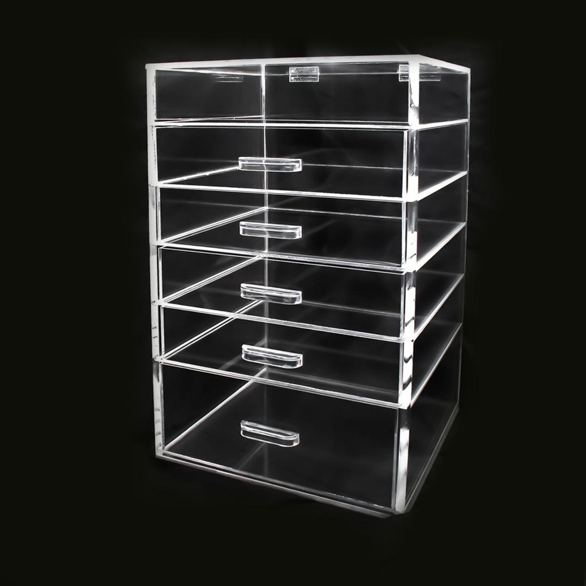 6 Layer Acrylic Jewelry Drawer Box