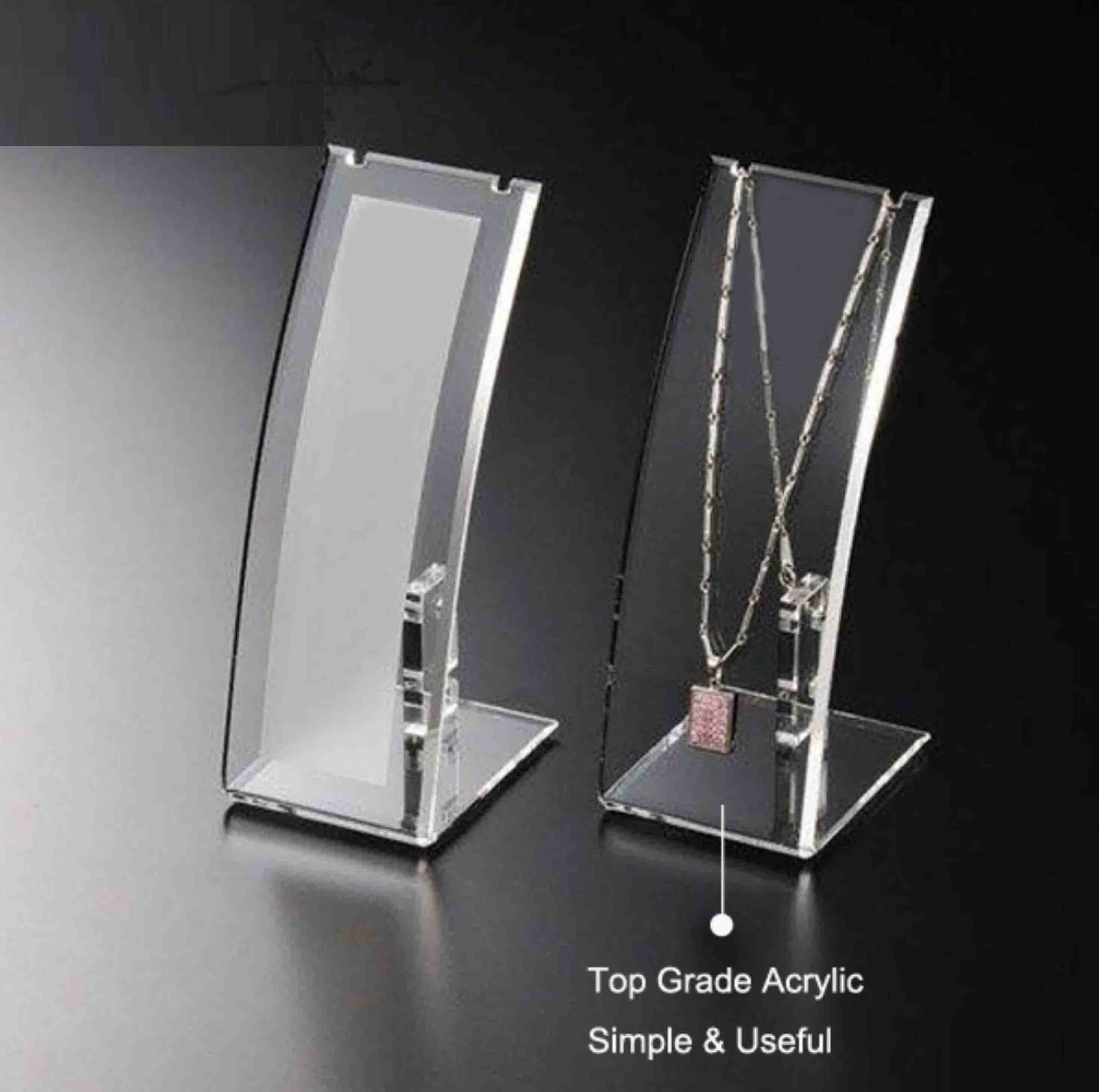 Vertical Arcuate Necklace Display custom jewelry display