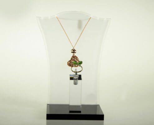 Necklace Display Crystal Bust
