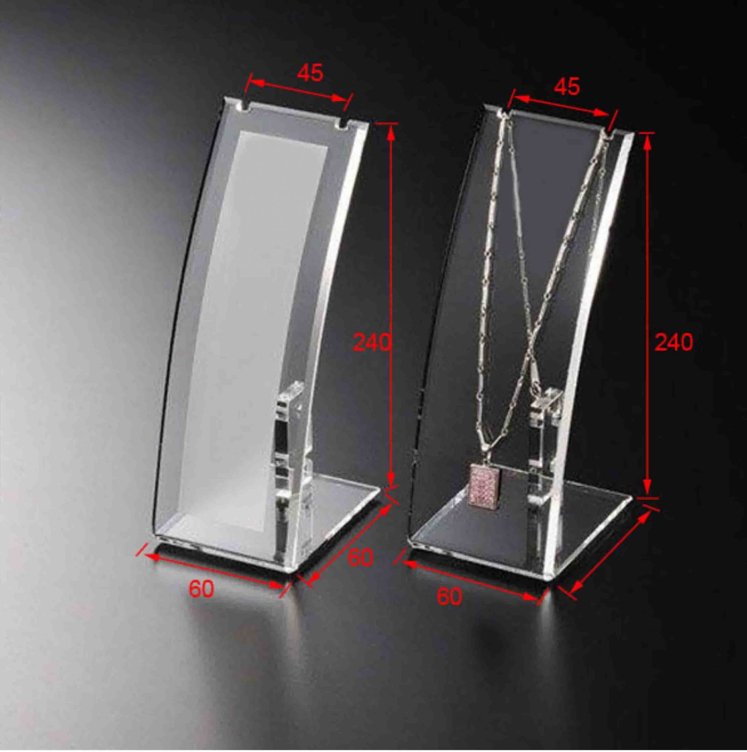 Vertical Arcuate Necklace Display jewelry display items
