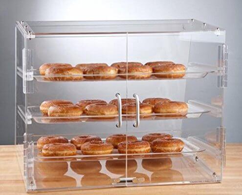 Self-Service Doughnut Display Case