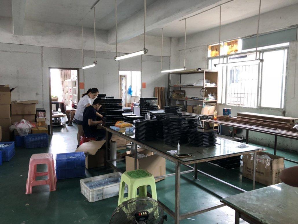 Chinov Display's working on producing new acrylic displays