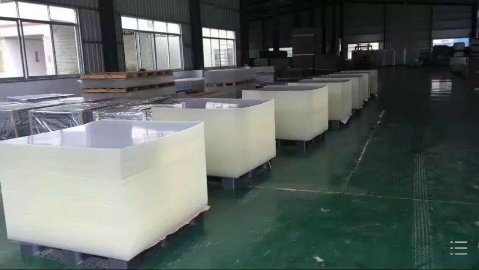 Chinov Acrylic Display Raw Material Warehouse