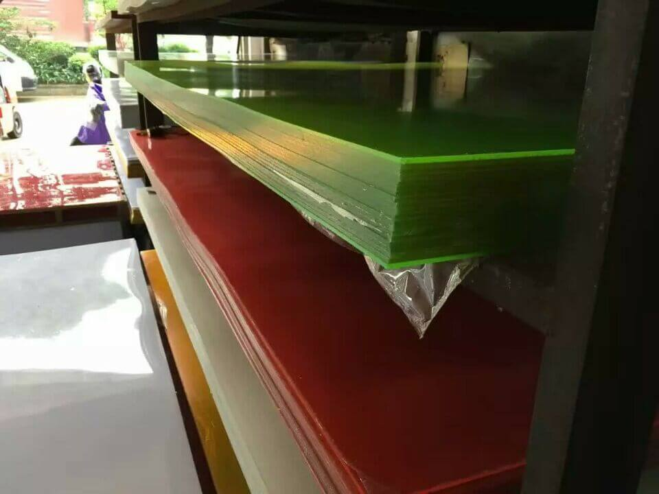 Various Colors Acrylic Sheet To Make Your Dream Display