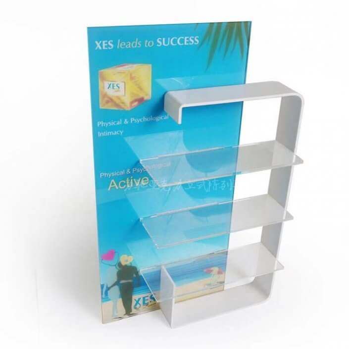 Acrylic Display Case Large with Shelves
