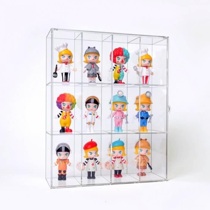 Large Acrylic Doll Display Case