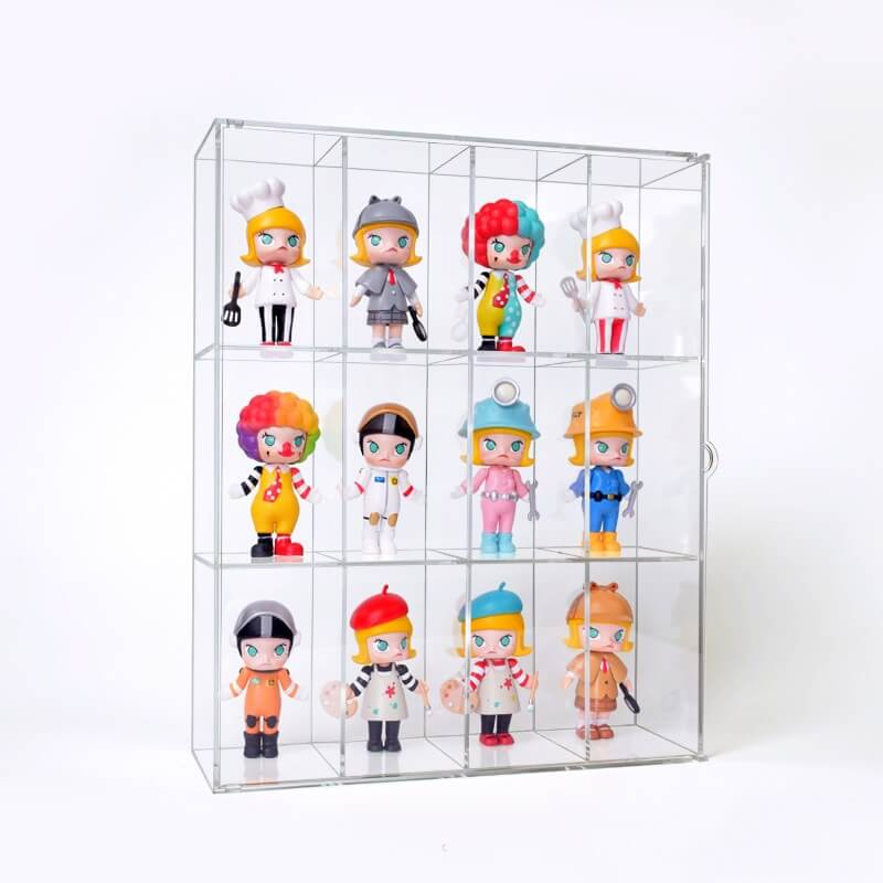 Large Acrylic Doll Display Case