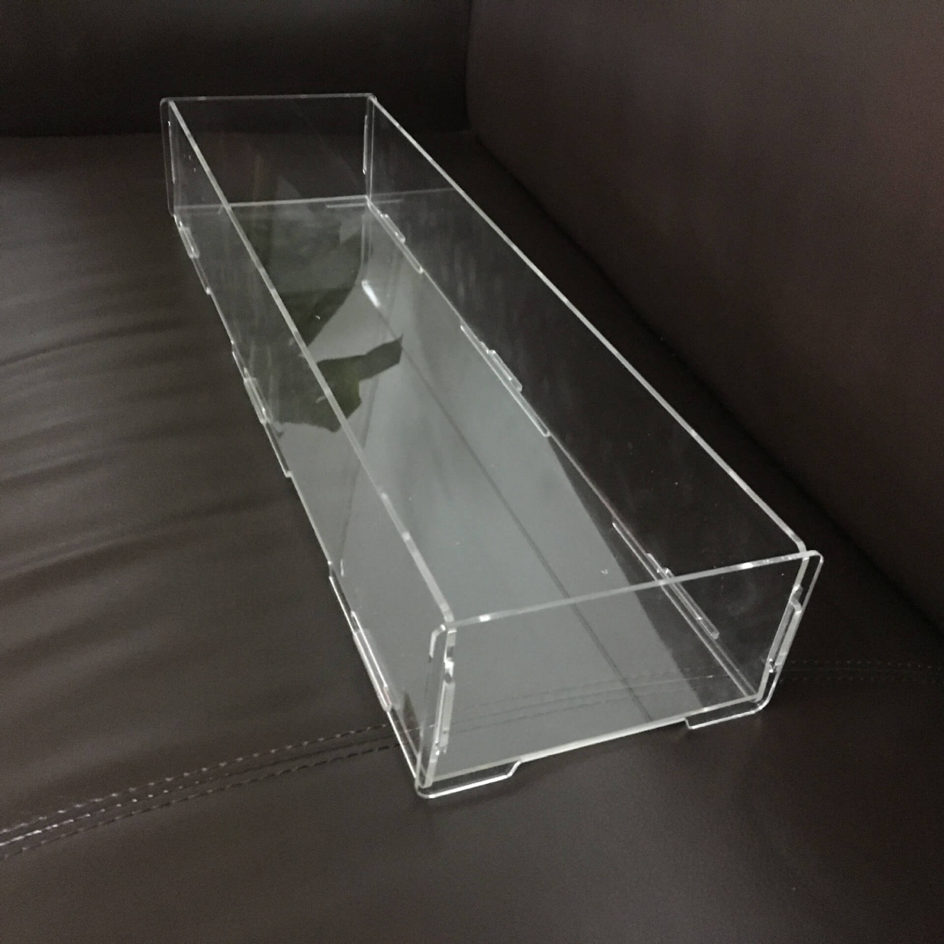 Rectangular Acrylic Display Case Large