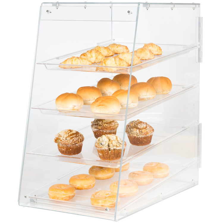 Countertop Acrylic Bakery Display Case Large