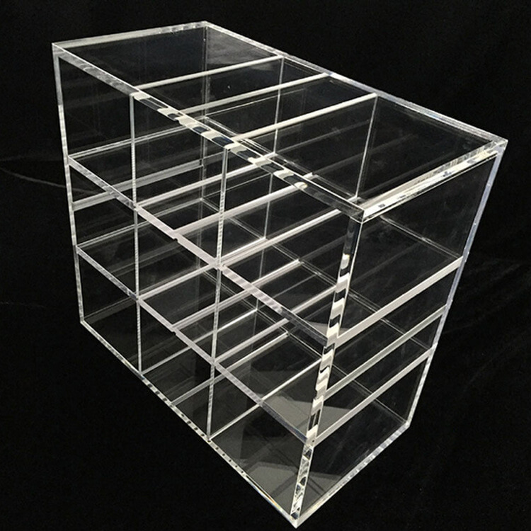 Large Acrylic Display Case With Divider