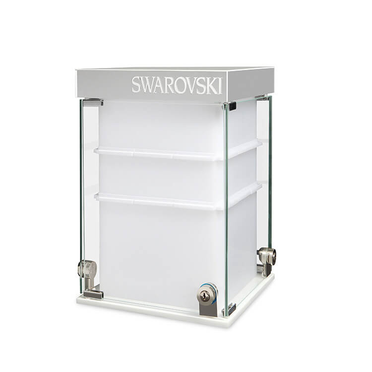 Large Acrylic Display Case With LED