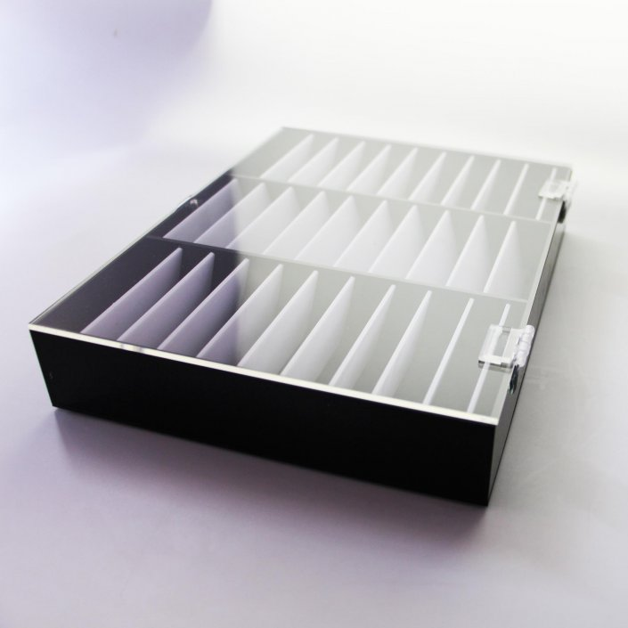 Acrylic Display Case With Lids & Covers