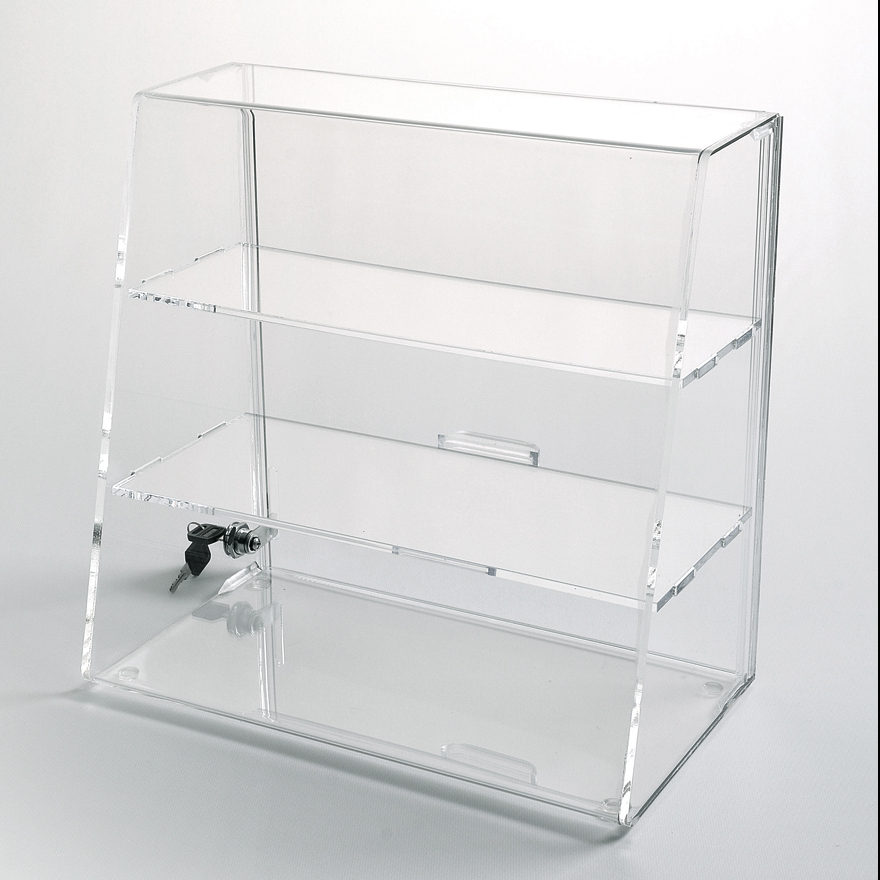 Large Acrylic Display Case With Lock